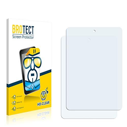 BROTECT Schutzfolie für Haier HaierPad Mini 781 [2er Pack] - klarer Displayschutz