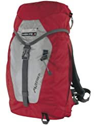High Peak 30035 Sac à dos Matrix 40 x 28 x 19 cm (Gris/rouge)