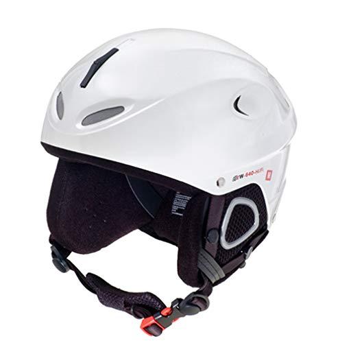 rueger-helmets RW-640 mit Lautsprecher Skihelm Snowboardhelm Ski Snowboard Skisport Bergsport, Größe:XS (53-54), Farbe:Matt Weiß