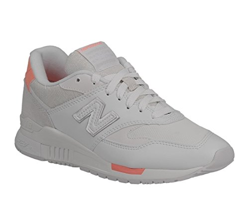 New Balance Sneakers Donna - Suede 840 - WL840-WF - White/Fiji-37.5
