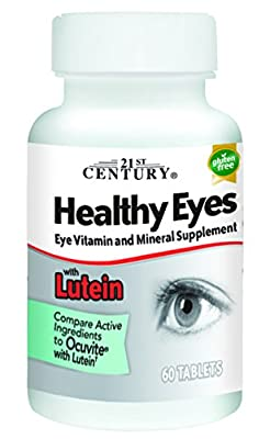 21st Century Health Care, Healthy Eyes with Lutein, 60 Tablets by 21st Century Health Care