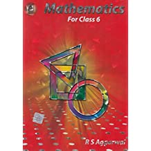 Mathematics for class 6 by R S Aggarwal (2019-2020) Session