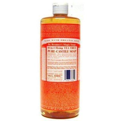 Ginger Essential Blend (Dr. Bronners Tea Tree 946 ml)
