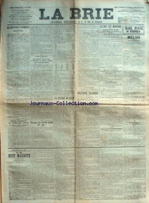 BRIE (LA) [No 3038] du 12/12/1912 - LA QUESTION D&...