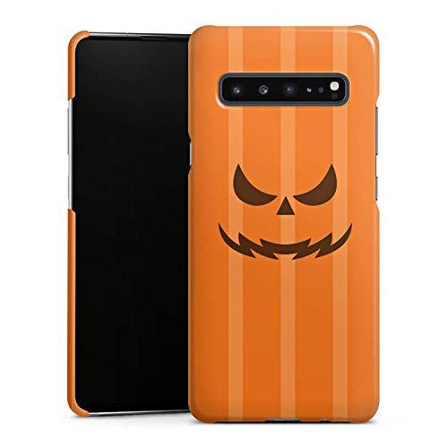 DeinDesign Premium Case kompatibel mit Samsung Galaxy S10 5G Hülle Handyhülle Gesicht Halloween Gruselig