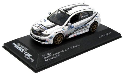 ixo-mdc024-miniature-veicolo-subaru-impreza-wrx-sti-gr-n-rally-kyoto-2009-scala-1-43