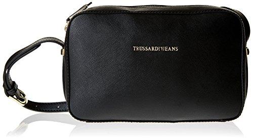 trussardi-jeans-levanto-borsa-a-tracolla-25-cm-nero