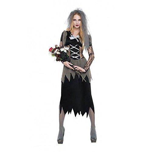 Imagen de disfraz novia cadaver talla s