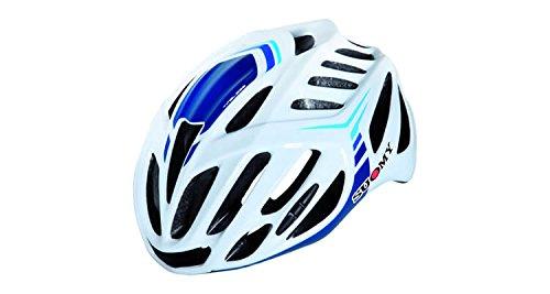 Suomy Casco bici Timeless bianco / 3blu taglia M (Caschi MTB e Strada) / Road helmet Timeless white / 3blue size M ( Mtb and Road Helmet)