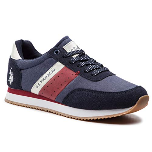 U.S. POLO ASSN TIBERY Navy NOBIL 4135S9/TH1 Sneaker per Uomo, 44