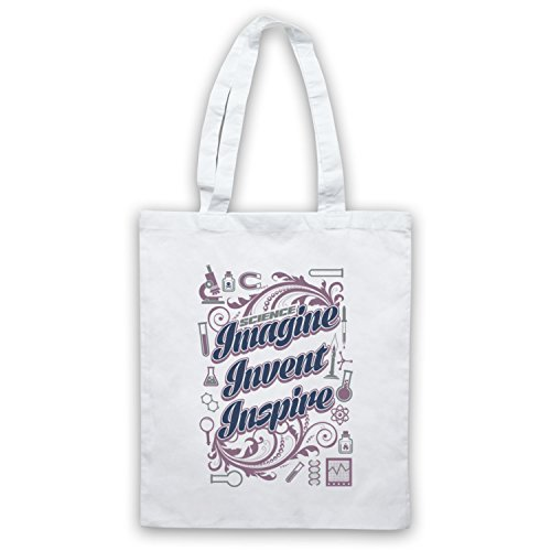 My Icon Art & Clothing , Borsa da spiaggia  Donna Bianco