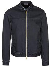 Amazon.fr   Veste en jean - Emporio Armani   Homme   Vêtements 9dd1b9c4c6b