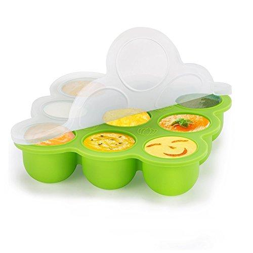 YISSVIC-Rcipient-Bb-Pots-de-Conservation-9-pots-Repas-en-Silicone-pour-Bb-Srement-et-Muti-Fonction-Conglation-Sans-BPA-pour-les-Nourritures-DIY-Varis-pour-Bb