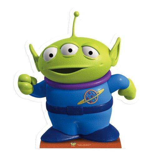 Star cutouts - Stsc396 - Figurine Géante - Alien - Toy Story - 65 X 58 Cm