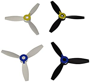 Parrot Bebop 4 propellers (2 White, 2 Black) by Parrot