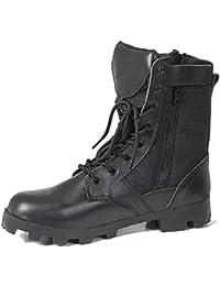 FCBDXN Stivali Da Combattimento Da Combattimento Da Uomo Tattiche Del  Deserto Stivali Addestrati Scarpe Da Alpinismo f0978aadc32