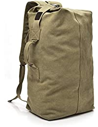 dd861ccd75d48 Valentoria Lässiger Rucksack groß Canvas Reisetasche Gepäcktasche Outdoor  Drive Outdoor Sport Trekking