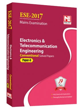 ESE 2017 Mains Examination: Electronics & Telecommunication Engineering - Conventional Solved Papers - Paper - 2