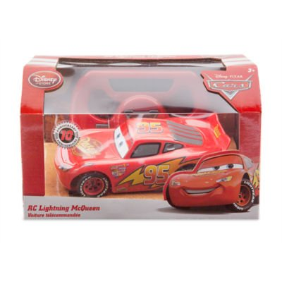 Image of Disney Pixar Cars Lightning McQueen Remote Control Car