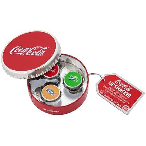 Lip Smacker Box Ronda 3 brillos labiales Coca Cola