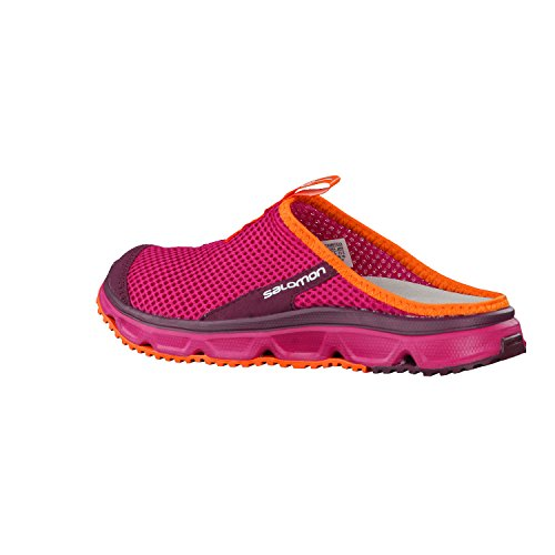 Salomon Damen Rx Slide 3.0 Pantoletten Rot (Sangria/fig/flame)