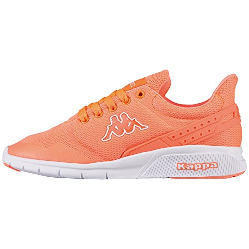 Kappa New York, Sneakers Basses Femme, Coral/White
