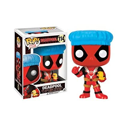 Funko - Figurine Marvel - Deadpool Shower Cap a...