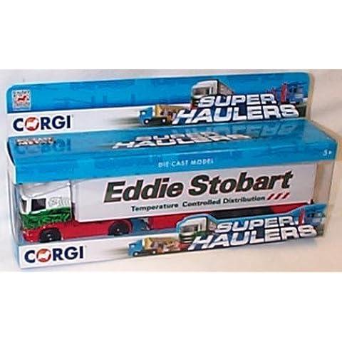 corgi giocattoli eddie stobart frigorifero camion superhauler camion 1.64 scala modellino