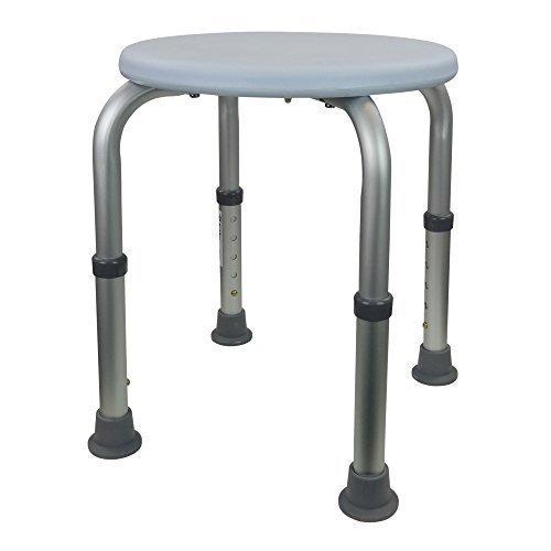 runder-duschhocker-aluminium-silber-mit-weissem-oe33-cm-sitz