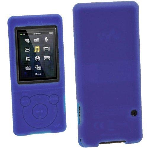 iGadgitz Blue Silicone Skin Case Cover for Sony Walkman NWZ-E473 NWZ-E474 NWZ-E574 NWZ-E575 E Series Video MP3 Player 4gb 8gb 16gb + Screen Protector (NWZ-E474B  available at amazon for Rs.1809