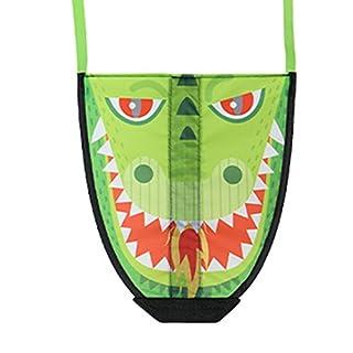 Naisidier Kinder Outdoor-Spielzeug Mini Thumb Kite Cartoon lustige Katapult Kite Kinder Outdoor-Park Garten Spiele aktive Familie Party Spaß Spielzeug (Drache)