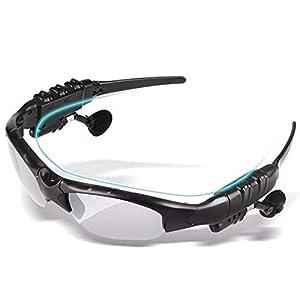 Gafas De Sol Inalámbricos, Multifuncional Vidrios Bluetooth De Manos Libres Bluetooth para Auriculares De Conducción Vidrios para El Ciclismo, Caza, Pesca, Viajar 8