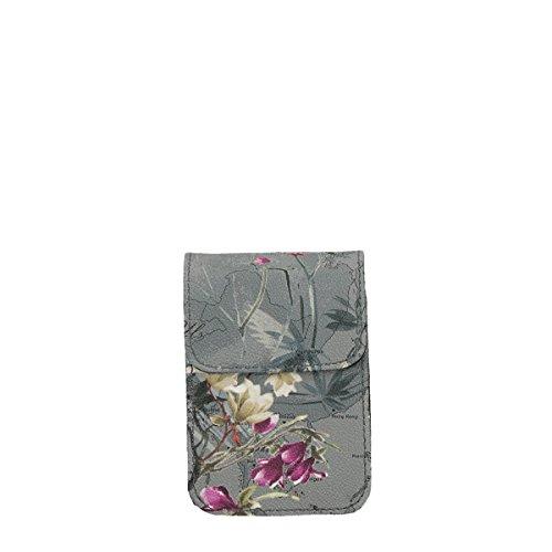 Alviero Martini cigarettes holder floral grey