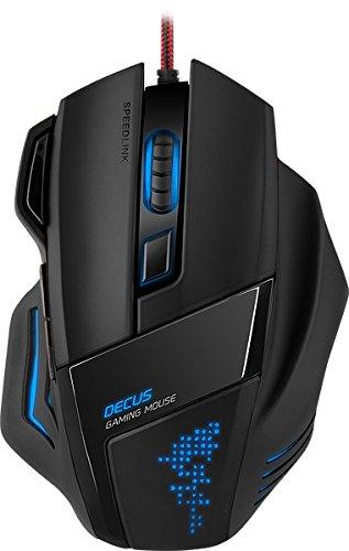 #Speedlink Decus Core Gaming Maus (7 Tasten programmierbar, interner Speicher, 5000dpi)#