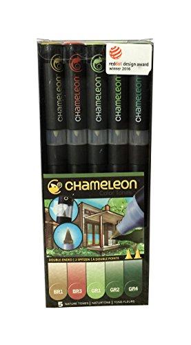 Chameleon Pens - 5er Set - Nature Tones
