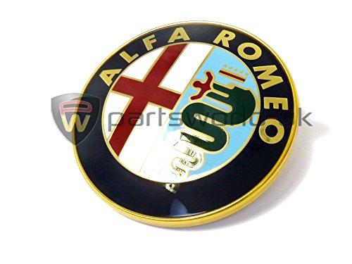 Alfa Romeo 156048134 Véritable badge arrière de coffre pour Alfa Romeo 156 147 et GT Type fixe