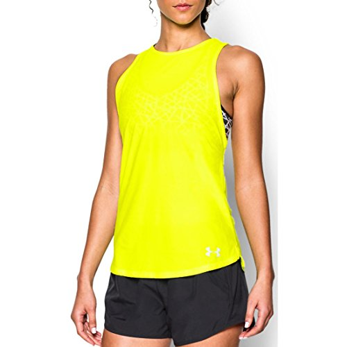 Under Armour Top Coolswitch Run Muscle Tank High Vis Yellow-731