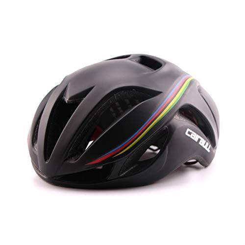 Cairbull Aerodynamik Größe Specialized Fahrradhelm MTB Helm 56-62 cm Mountainbike Helm Herren & Damen Schwarz Mit Rucksack Fahrrad Helm Integral 19 Belüftungskanäle (Black T, Erwachsene(56-62cm))