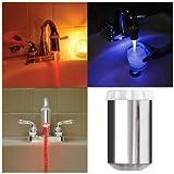 Embout de robinet à LED lumineux changement de couleur - version luxe