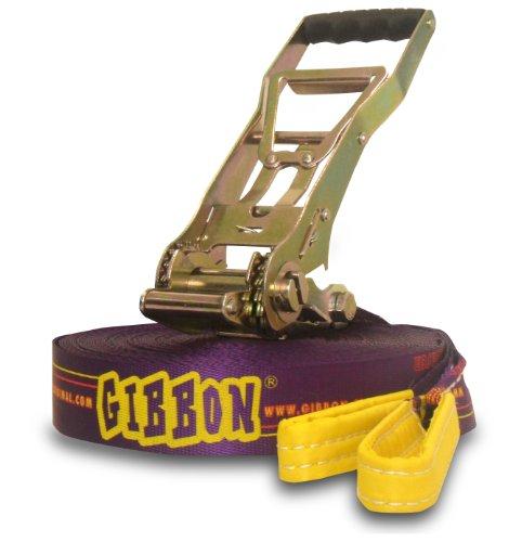 Gibbon Slackline Set Set De Slackline Mauve 30 M X 5 Cm
