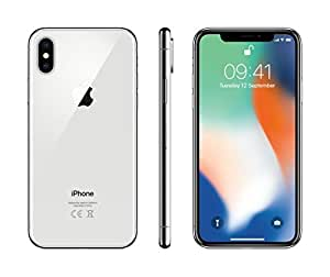 Apple iPhone X 64 GB SIM-Free Smartphone - Silver