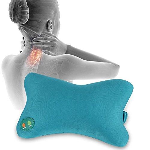 Almohada masaje, masajeador eléctrico suave cuello
