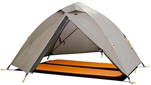 Wechsel tents EXTREM ZELT   Charger Travel Line   Profi Kuppelzelt   spezielle Gestängeverbindungsknoten für eine HOHE Stabilität   2 Personen Geodät   auch ohne Innenzelt nutzbar   Farbe: braun - 4