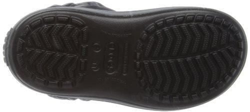 Crocs Puff 14613 Unisex - Kinder Schneestiefel Schwarz (Black/Charcoal)