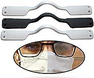 Antivaho para Gafas mascarillas (3 uds) Soporte para la Reducción del Vaho en Las Gafas Reutilzable Puente Nas