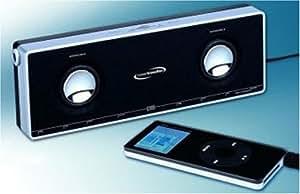 PowerTraveller K2000 Portable MP3 Speakers - Black