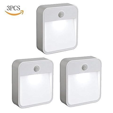 mur d'éclairage - Lampe adhésive LED, Veilleuse Automatique - Lumière