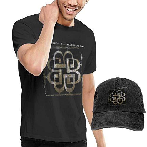 Herren Kurzarmshirt Mans Breaking Benjamin Classic Music Band T Shirts Black Buy Tshirt Get One Hat Free