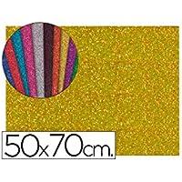 Liderpapel 58660 - Goma con purpurina
