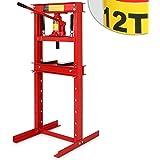 Werkstattpresse Lagerpresse inkl. Hydraulikpumpe und 2x Druckplatten Hydraulikpresse Dornpresse (max. 12T)
